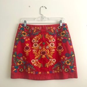 altar'd state embroidery skirt